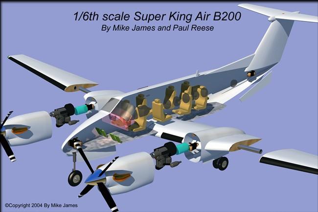 Nextcraft King Air B200 Info